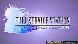 Brazzers - Brazzers Exxtra - Full Service Station A XXX Parody scene starring Nikki Benz and Sean La