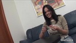 Ass fisting before hardcore fuck for young brunette teenager