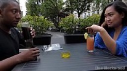 Miss Pinay - Asian female dominates black guy