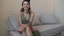 ProducersFun - Cute tattooed teen Zara Brooks fucks porn producer