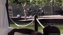 Black cock filled tight ass - Kiki Cyrus, Joss Lescaf