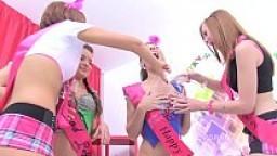 Teen Anal Gangbang 4x4 Timea Bella, Anita Bellini, Linda Sweet & Tina Hot - OMG!