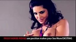 Sunny Leone Sex Position Guide - PUSSY HORSE RIDING ( Hindi Audio English subtitles )