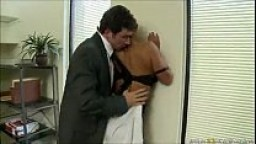 Shyla Stylez crazy FORCED to fuck at office after slapping & spitting