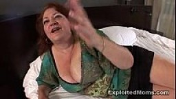 Chubby mature bbw gets ass fucked in Interracial anal Video