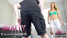Sasha Foxxx Teaches Jenny How To Ballbust JASON NINJA FEMDOM