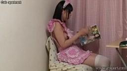 Japanese Teen Maid Masturbation