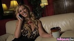 Blonde milf (Cherie DeVille) eats (Darcie Dolce) for breakfest - Twistys