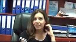 Izabella fucks on workplace