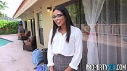 PropertySex - Real estate babe mixing business with pleasure