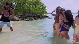 GIRLS GONE WILD - Teen Lesbians Allie Bella and Lenna Lux Moan in Ecstasy