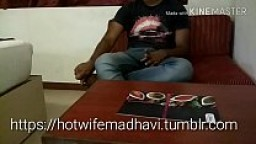 My wife Madhavi pounded hard by an Indian BBC friend who we met in social media