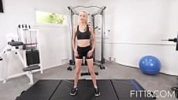 Fit18 - Kiara Cole - 90lbs Tiny Naive American Teen - 60FPS