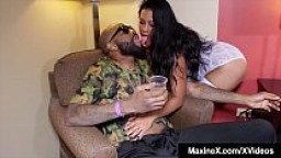 Interracial Ho Maxine X Fucks Another Big Black Cock!