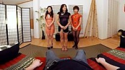 VRBangers.com Three Hot Asian Girls Pleasureing Your Dick