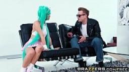 Brazzers - Brazzers Exxtra -  Otaku Orgasm scene starring Ayumu Kase & Bill Bailey