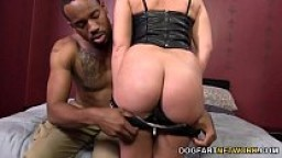 Krystal Carrington Gets Creampied By A Black Guy