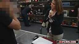 Who is this??! Amazing ass, great head and fuck in pawn shop
