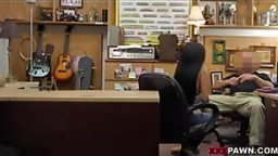 black chick get fuck in the office