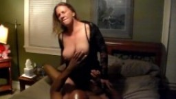 Hot wife Elle filled with cum