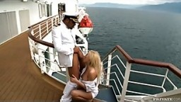 Donna Works on a Boat and the Captain Decides to Fuck Her Ass