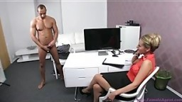 Tony and Sharon Star in sexy casting