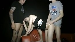 REAL Stranger Fuck Party at Public Porn Cinema