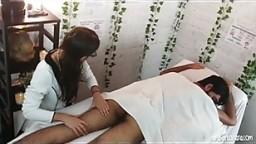 Massage Parlor Hidden Cam & Happy Ending!