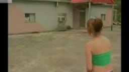 Sexy Taiwan Girl Naked Sport Strip Basketball