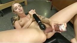 Karla Kush Machine Fucked to Squirting Orgasm