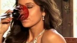 Sultry Ana Paula Olivira gives erotic striptease