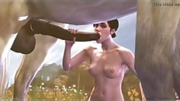 Sex Animation with horse