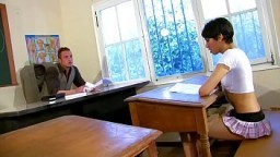 Anal sex lesson at school