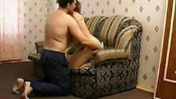 russian milf on couch