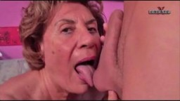 Old Grandma Martha will always Want Cock