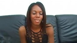 Hot Ebony Dena Creampied